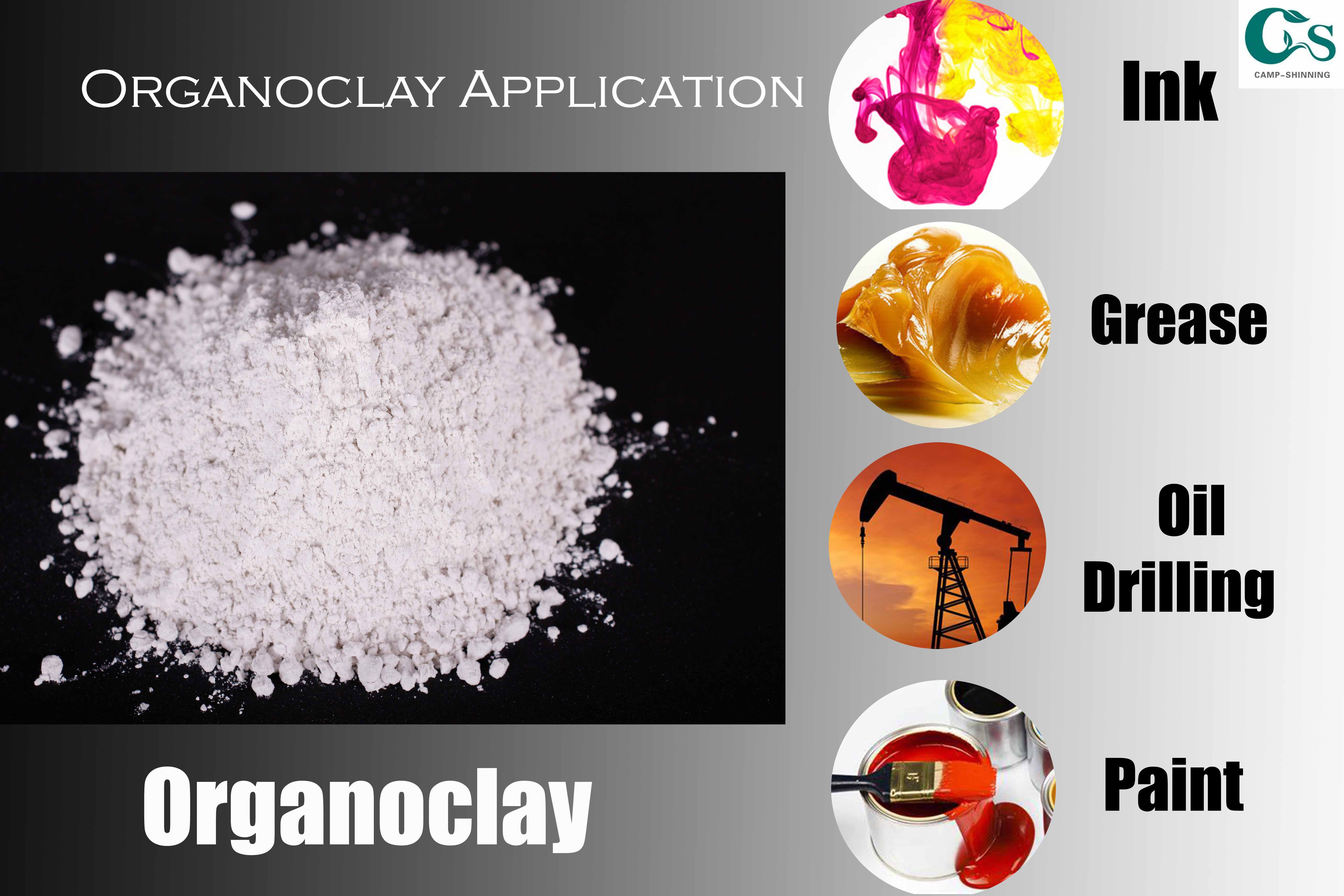 Organoclay CP-720A Used for Grease
